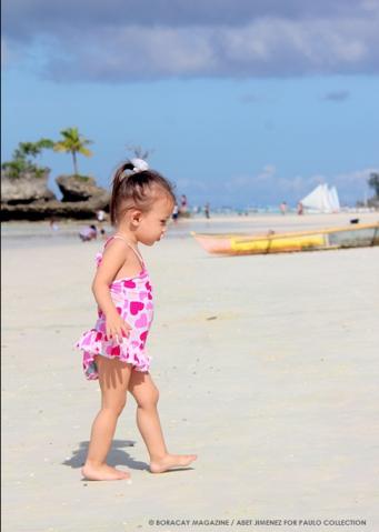 Boracay baby beachwear