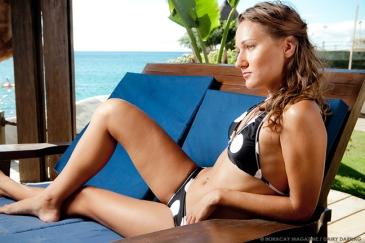Model Anya Kharlamova. Photography Dairy Darilag. Location: Boracay West Cove.