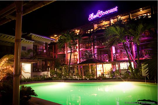 Beachfront pool at Red Coconut Hotel Boracay