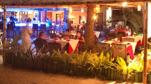 Red Coconut Beach Hotel Boracay evening restaurant