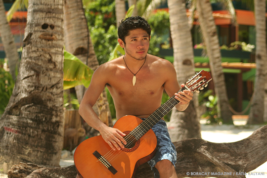 Armand TJ, singer-songwriter from Boracay Island, Philippines