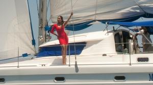 sailing cruise in Boracay Island