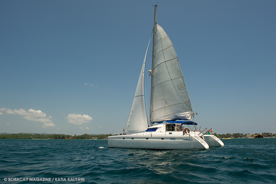 Mahal, the luxury sailing experience provider in Boracay Island, Aklan, Philippines