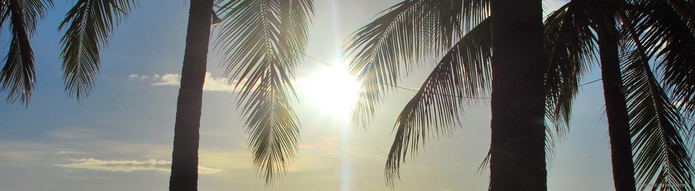 boracay island sunny weather peak season