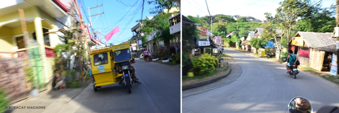 Hop on a motorbike or tricycle to explore the inroads of Boracay's simple village life.