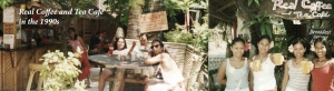 Old Photos of Real Coffee and Tea Cafe Boracay 1990s