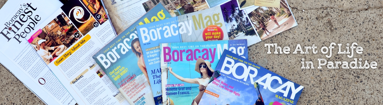 Boracay beach magazine